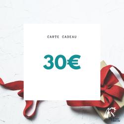 Carte cadeau - 30€