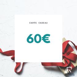 Carte cadeau - 60€