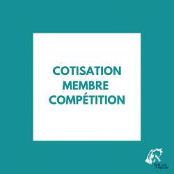 Cotisation membre compétition